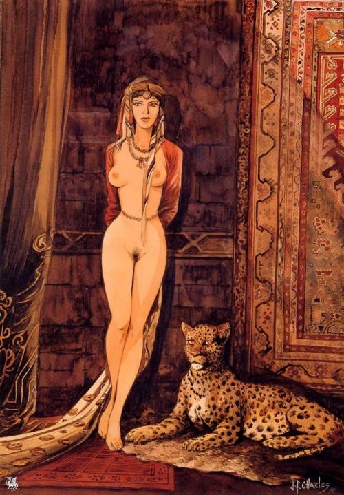 Французкий художник Jean-Franois Charles (119 фото)