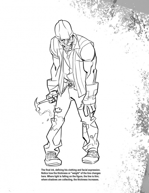 How To Draw (And Fight) Zombies (130 фото)