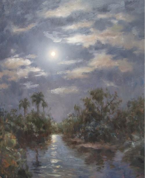 Американский импрессионист Эжен Джей Папроски (E. J. Paprocki) (149 работ)