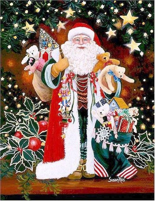 Christmas card of twentieth century 3 | Открытка ХХ века - Новый год и рождество 3 (93 открыток)