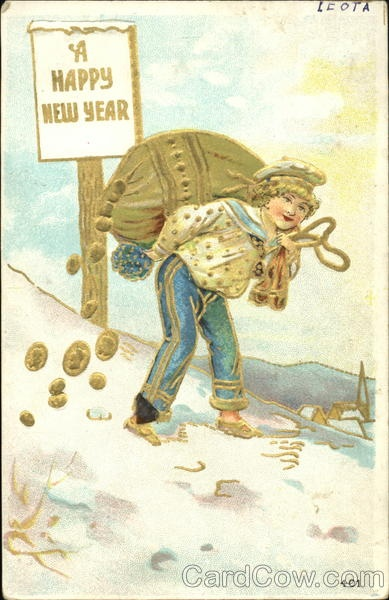 Christmas card of twentieth century 3 | Открытка ХХ века - Новый год и рождество 3 (93 фото)