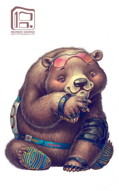 Иллюстратор Георгий Редреев (56 фото)