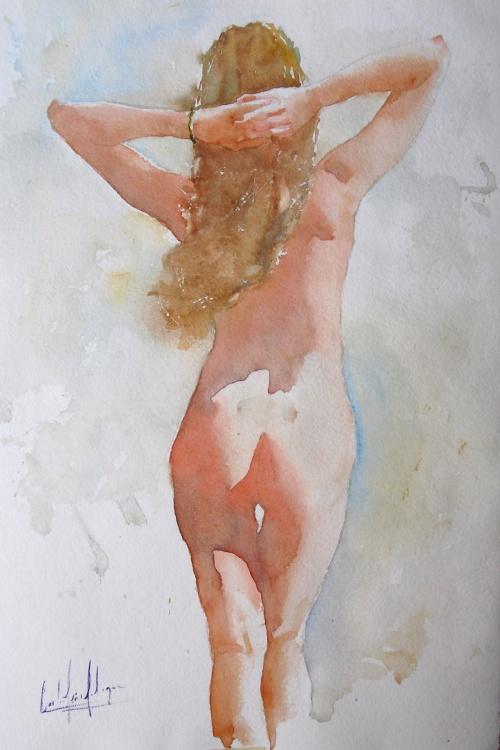 Акварельные работы Carlos Leon Salazar (105 работ)