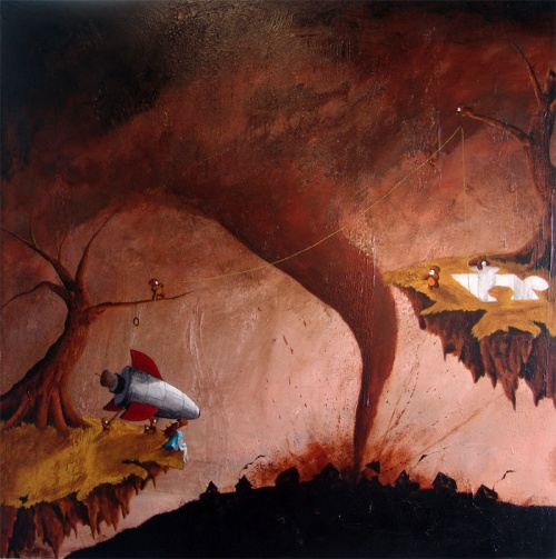 Американский художник Роберт Даулинг-младший (Robert Dowling Jr.) (28 фото)