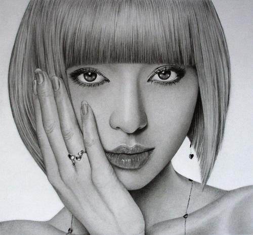 Портреты английского художника Кена Ли (Ken Lee) (57 фото)