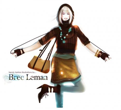 Работы Bree Leman (34 фото)