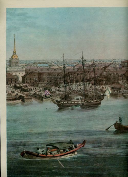 Панорама Петербурга 1820 года (23 работ)