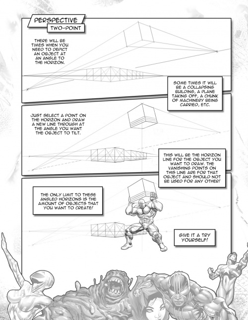How To Draw Superpowered Heroes (130 работ)