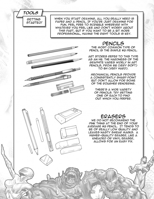 How To Draw Superpowered Heroes (130 фото)