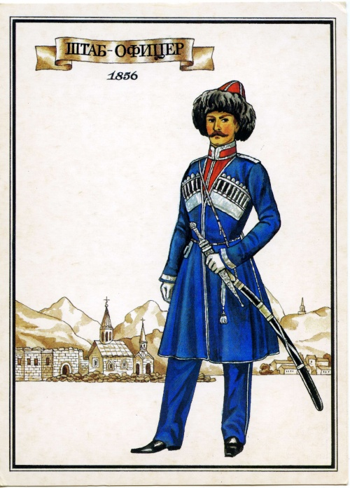 Русский военный мундир XIX века (59 работ)