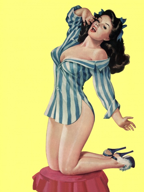 Art Time Tunnel (Pin-Up Style) (181 фото)
