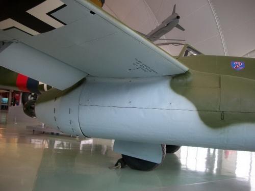 Фотообзор - немецкий реактивный истребитель Messerschmitt Me262 (30 фото)