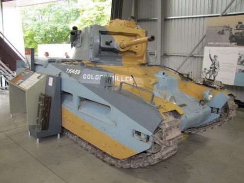 Фотообзор - британский пехотный танк Infantry Tank Mk.II Matilda (38 фото)