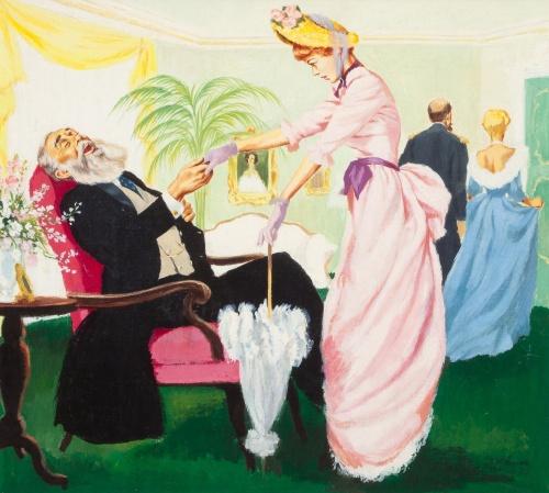 Американский художник-иллюстратор Frederic Varady (37 работ)