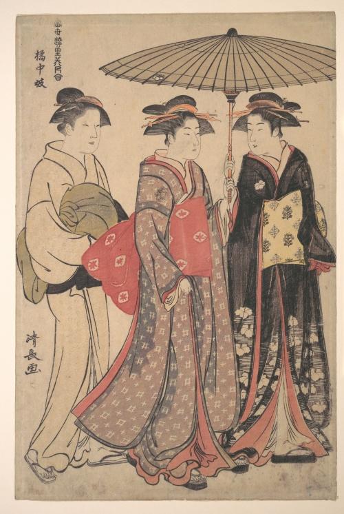 Artworks by Torii Kiyonaga (1752-1815) (1 часть)