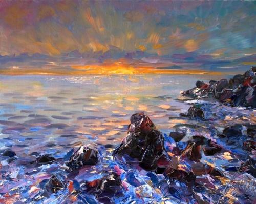 Пейзажи художника Владислава Кравчука (44 фото)