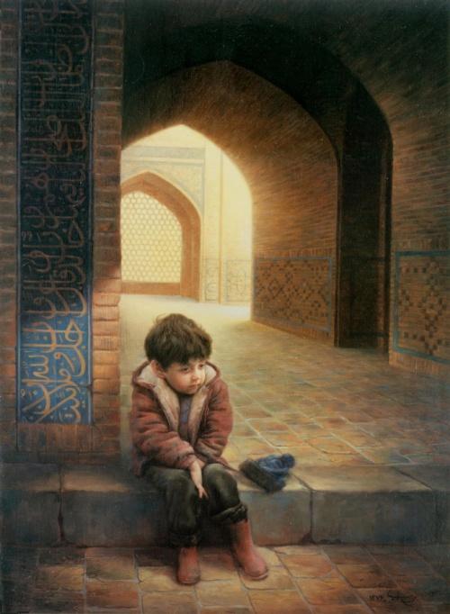 Коллекция работ художника Majid Arvari (24 фото)