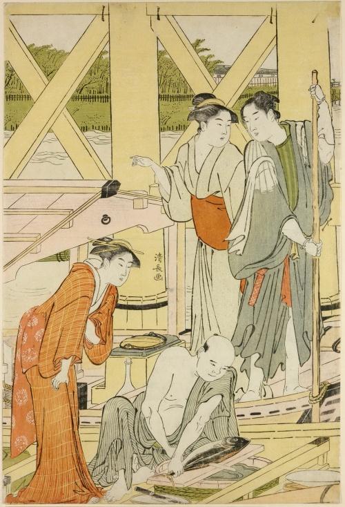 Artworks by Torii Kiyonaga (1752-1815) (2 часть)