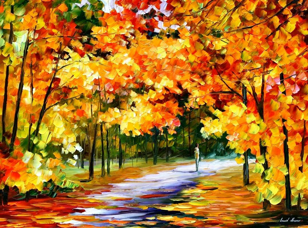 Фото картины на тему осень