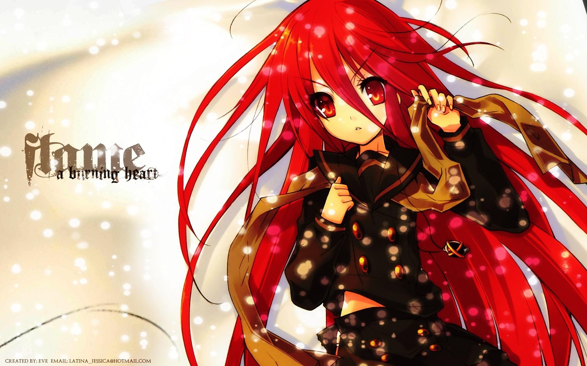 картинки рыжих аниме: