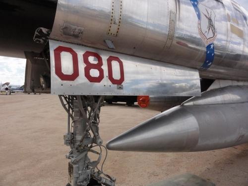 Фотообзор - американский бомбардировщик B-58A Hustler (61-2080) (74 фото)