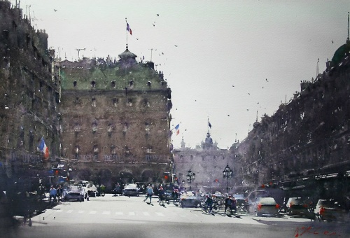 Картины акварелью от - Джозеф Збуквич (21 фото)