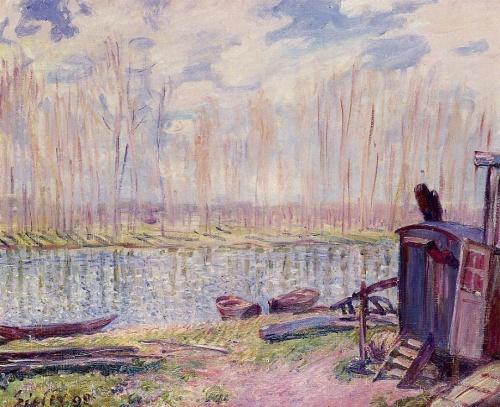 Альфред Сислей / Alfred Sisley (378 работ)