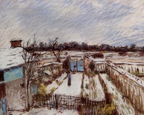 Альфред Сислей / Alfred Sisley (378 фото)