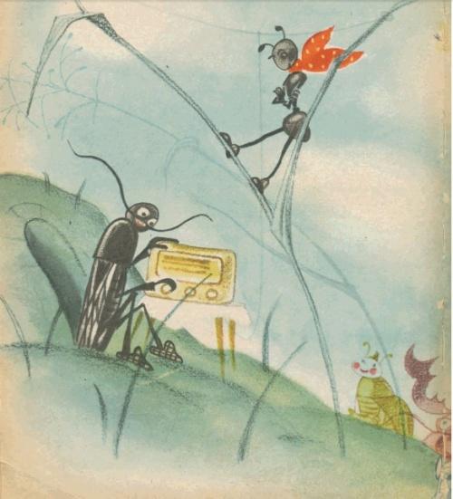 Любимые художники нашего детства - Ника Гольц - часть 3 - ЖИЗНЬ ПРОПИТАНА ЧУДЕСАМИ (31 фото)