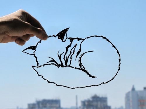 Силуэты, вырезанные из простой бумаги (28 фото)