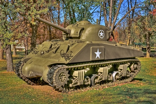 Sherman HDR Photo (5 фото)