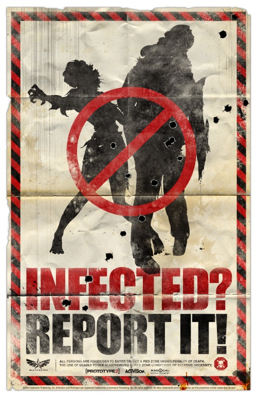 "Posters for Game ""Prototype2"" (2) (12 фото)"