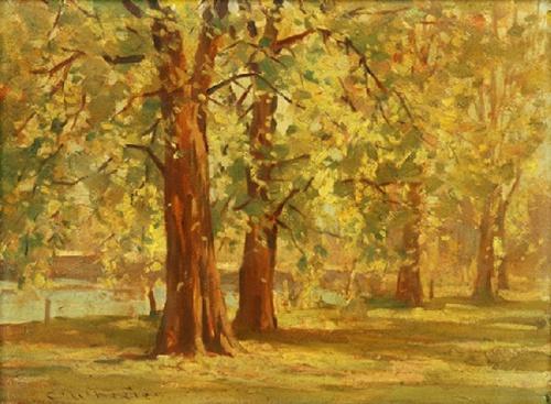Художник Charles Arthur WHEELER (1880-1977) (49 фото)