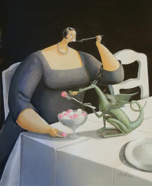 Artworks by Sarah-Jane Szikora (91 фото)