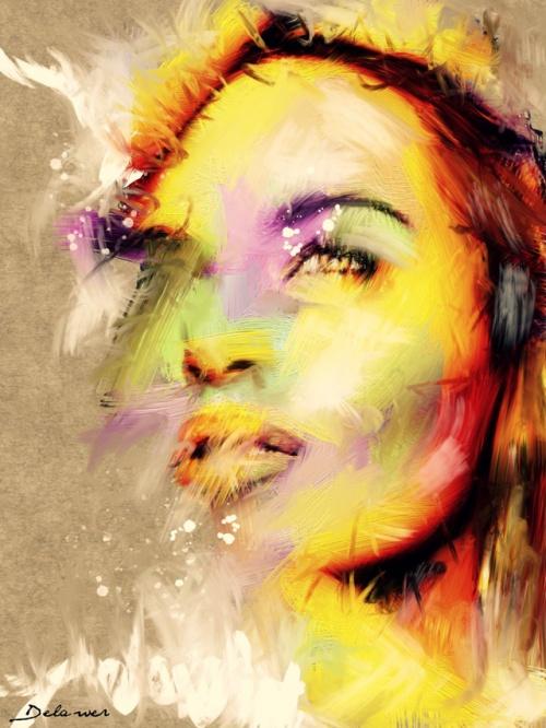 Художник Omar Delawer (60 работ)