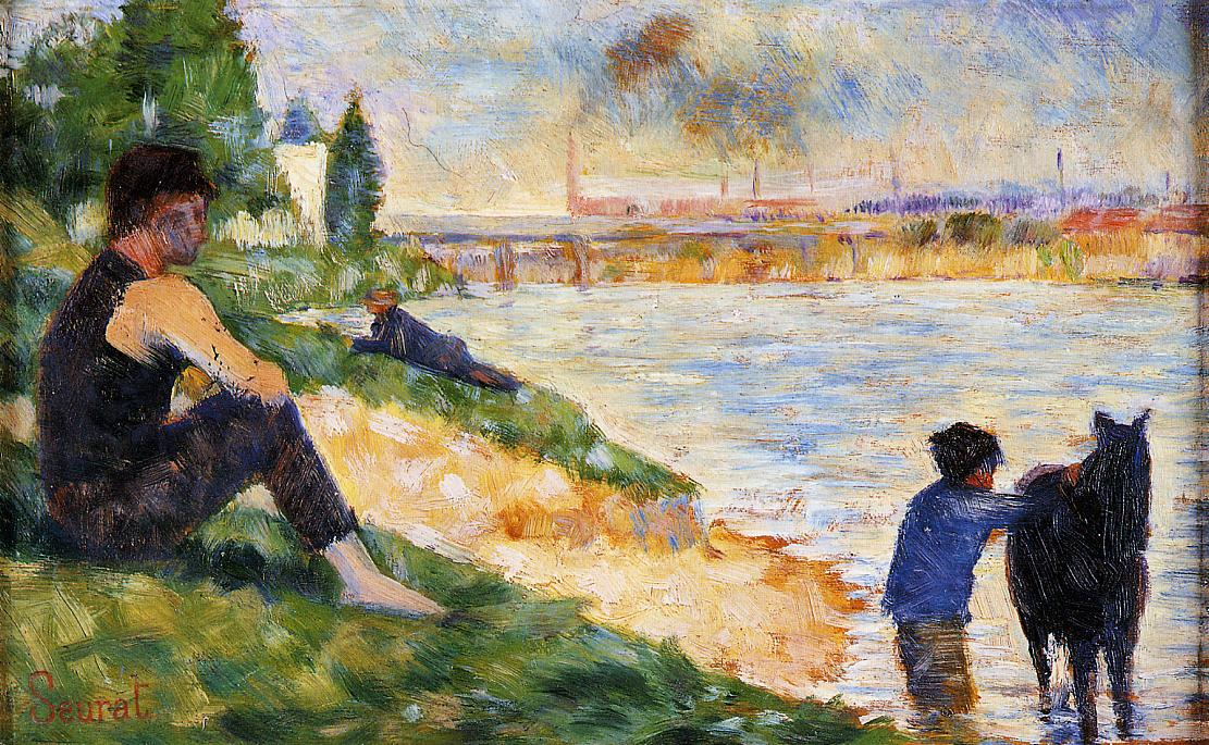 a biography of george seurat the french post impressionist painter