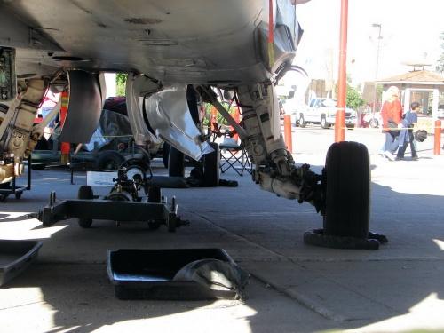 Фотообзор - истребитель CF-118 Hornet (150 фото)