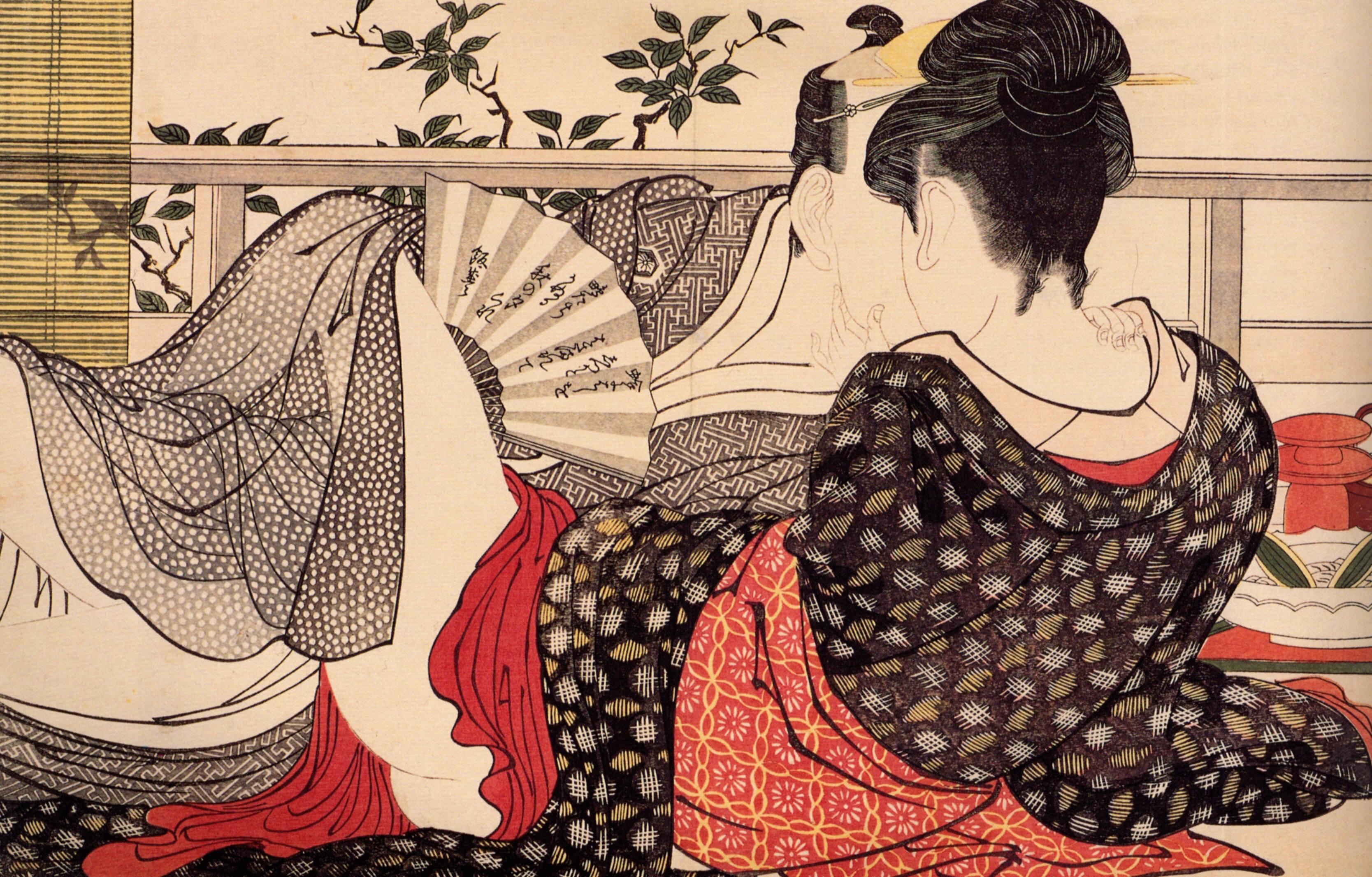 Китагава Утамаро (Kitagawa Utamaro) - японский художник