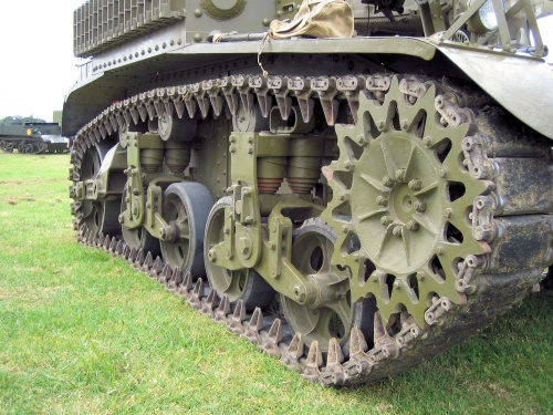 Фотообзор - американский легкий танк M3 Stuart (26 фото)