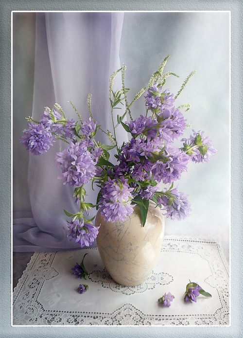 Натюрморты – Букеты цветов (46 работ)