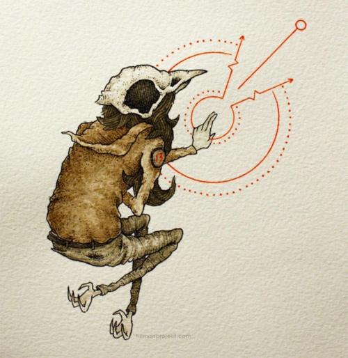 Иллюстратор Clint Reid (40 фото)