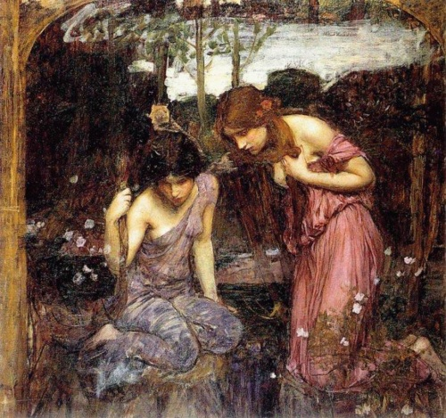 John William Waterhouse / Джон Уильям Уотерхаус (202 работ)
