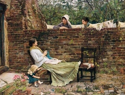 John William Waterhouse / Джон Уильям Уотерхаус (202 работ)