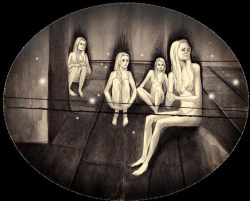 Moleskine art by Julia Petrova (30 фото)