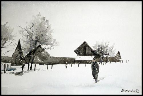 Акварельные путешествия Rafal Rudko (296 фото)