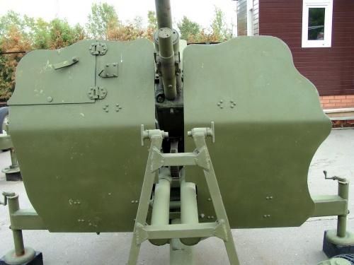Фотообзор - советская зенитная пушка 72-K колибра 25mm (24 фото)