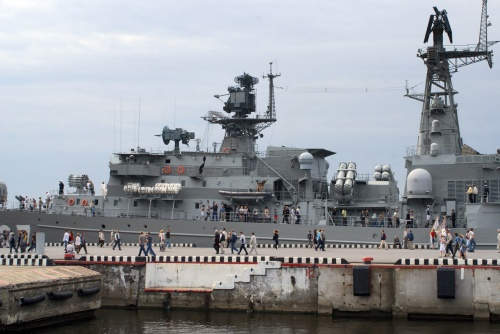 Российский сторожевой корабль