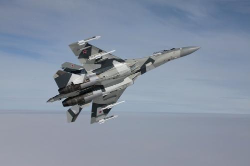 Российский истребитель Су-35 (20 фото)