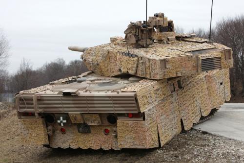 Leopard 2A7+ (10 фото)