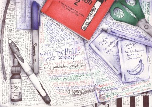 Рисунки ручкой (25 фото)